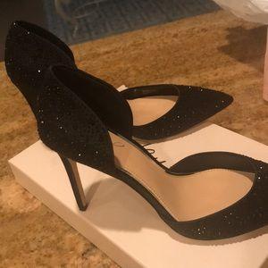 Badgley mischaka black heels
